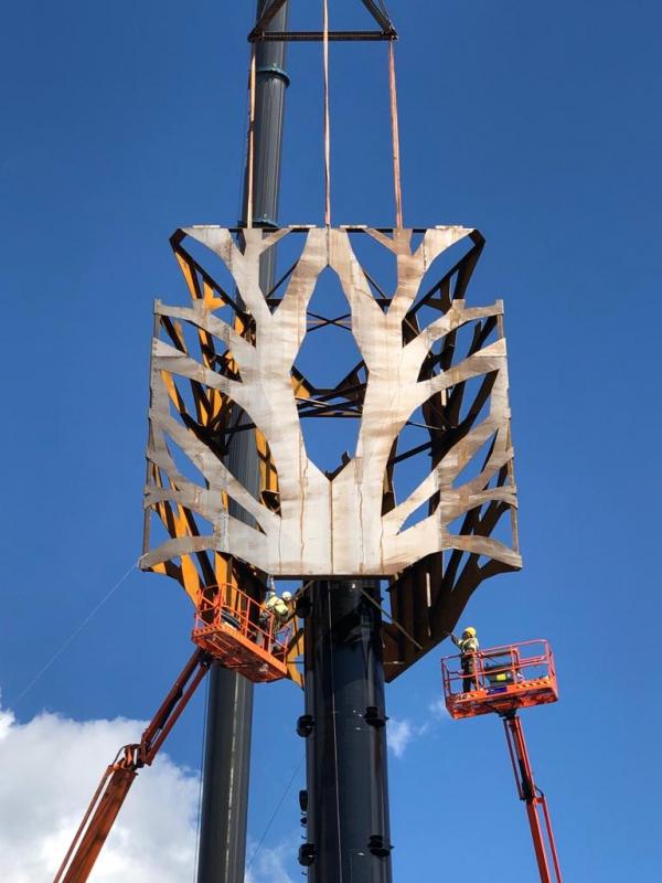 We zetten een boom op! Kijk mee met de bouw!