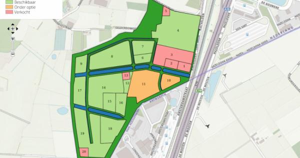 Prohuis geeft 62 hectare kavels tot 100.000 m2 uit op BCT